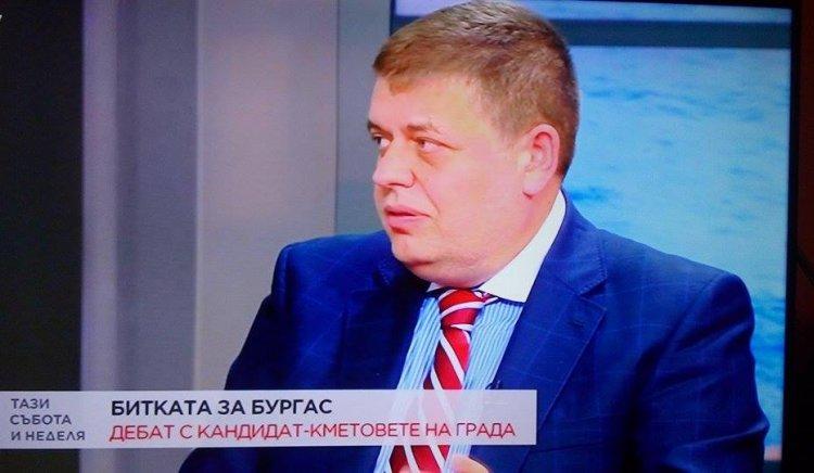 Ти местиш - Евгений Мосинов участва в дебата за Бургас по БТВ