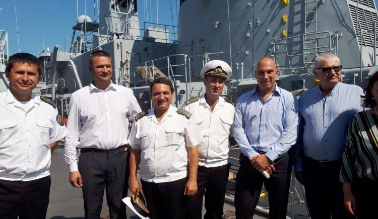 """Бургаските народни представители от """"БСП за България"""" се ангажираха с проблемите във Военноморска база Атия"""