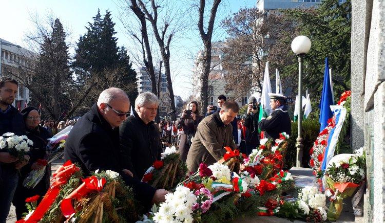 БСП – Бургас отбеляза 140 г. от освобождението на град Бургас
