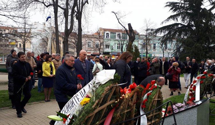 БСП – Бургас присъства на официалното откриване на единствения в града Мемориал на благодарността