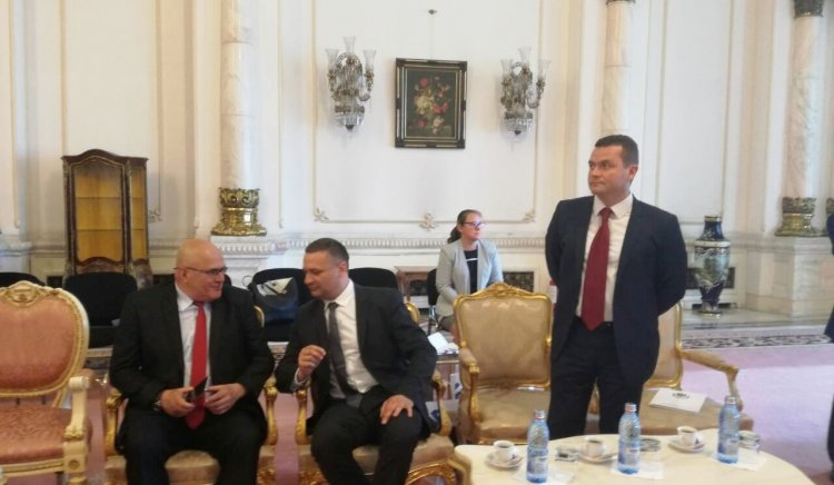 Тодор Байчев, Димитър Стоянов и Пенчо Милков са на работно посещение в Букурещ