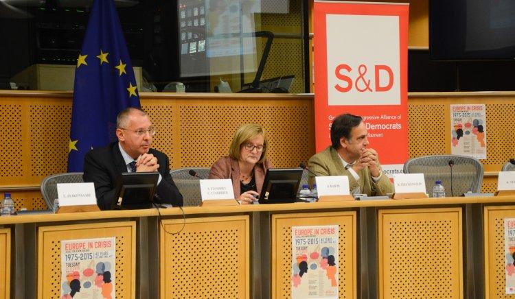 Станишев в Брюксел: ЕС трябва да търси сближаване с Русия пред общата заплаха