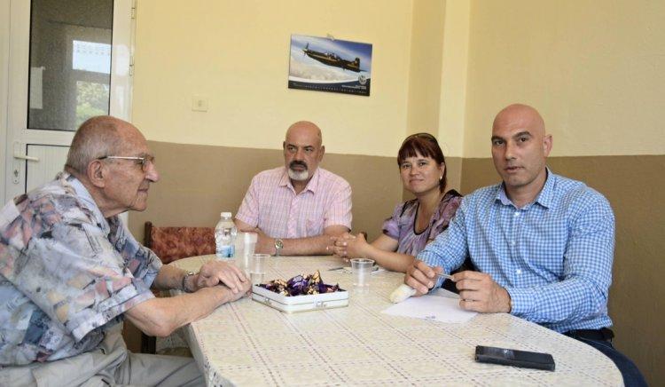 Николай Тишев се запозна с проблемите на жителите на Айтос